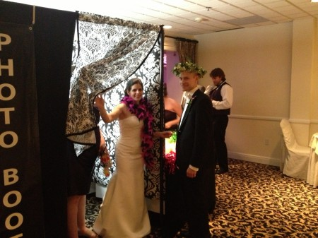 Albany Wedding Photobooth at Mohawk River Country Club